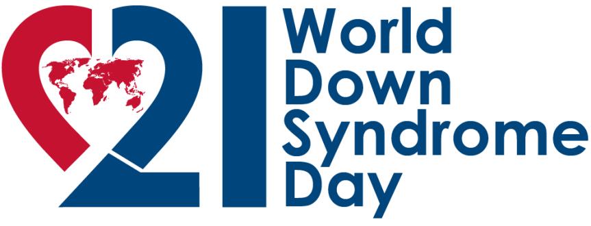 Logo des Interantionalen Welt Downsyndrom Tages