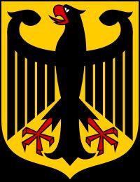 ドイツ連邦共和国の国章はワシがモチーフ・デザイン