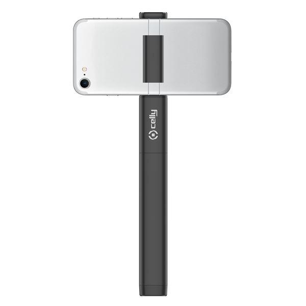 Supporto Selfie Bluetooth con Flash Universale Celly col.nero
