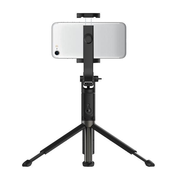 Supporto Selfie Bluetooth con Treppiedi Universale Celly col.nero