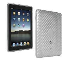 Custodia in silicone per iPad Trust col.trasparente
