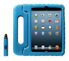 Custodia/Stand antiurto per iPad mini Kids Trust col.blu