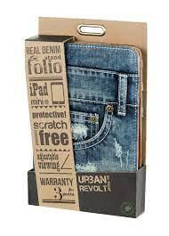 Custodia/Stand in stoffa jeans iPad mini Trust