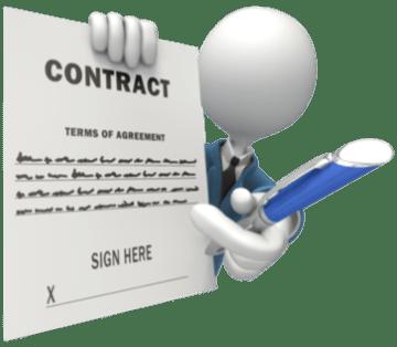 Managen van een contract