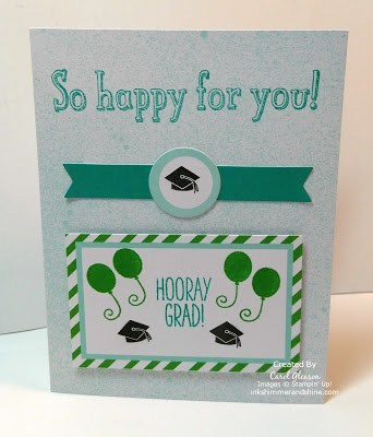 March 2016 Paper Pumpkin Graduation card