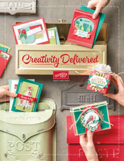 Cover of 2017 Stampin' Up! Holiday Catalog