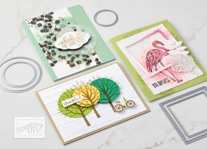 Stampin' Up! Sheltering Tree catalog card
