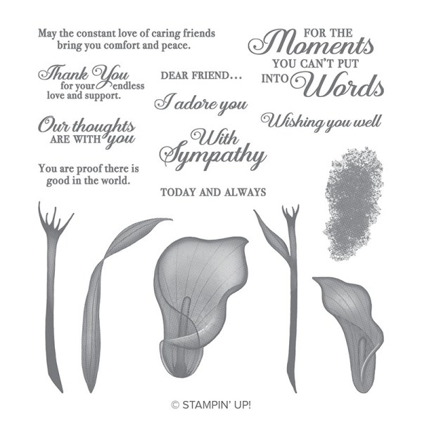 Stampin' Up! Lasting Lily Sale-a-Bration Stamp set