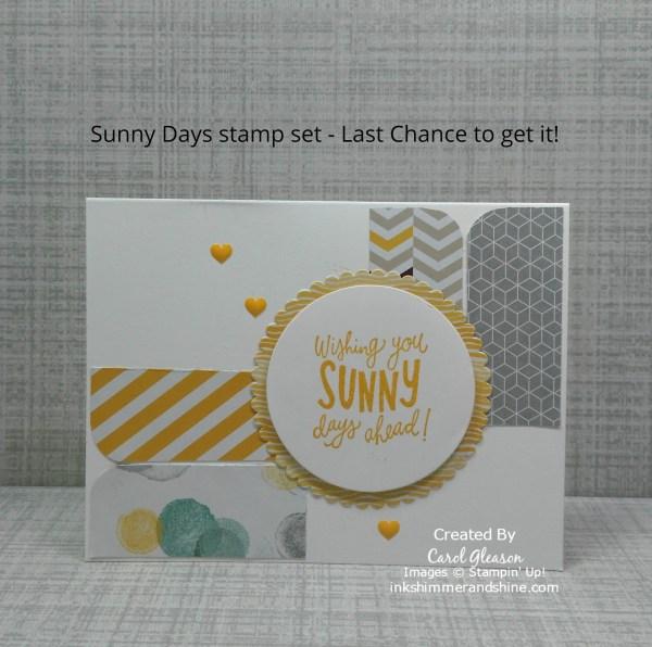 Sunny Days card