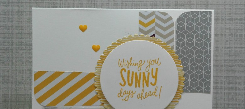 Wishing You Sunny Days Ahead card