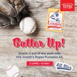 May 2021 Paper Pumpkin Kit - Score a Home Run with the special deal for new subscribers while supply lasts!