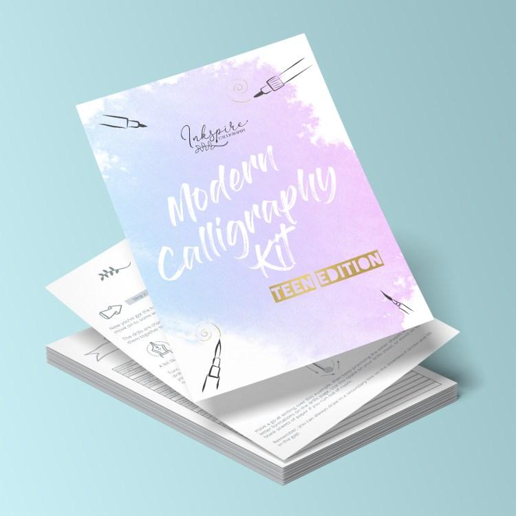 Modern Calligraphy for Teens kits