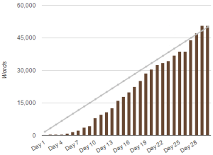 NaNoGraph 2013