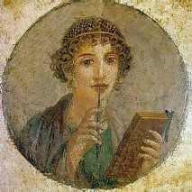 Sappho, lyric poet of Lesbos