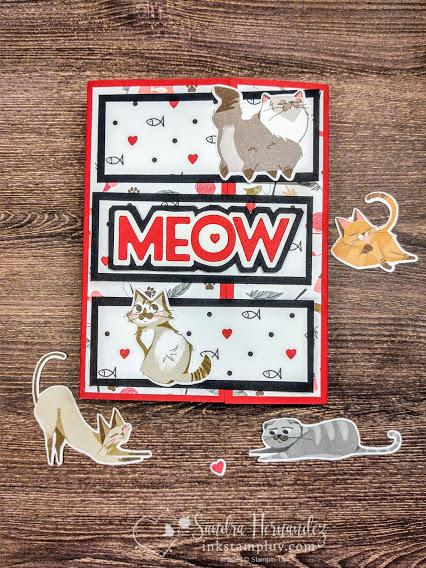 Fun Fold Cat Meow