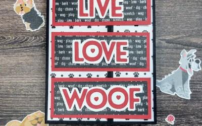 Pampered Pets Fun Fold…NO Stamping!