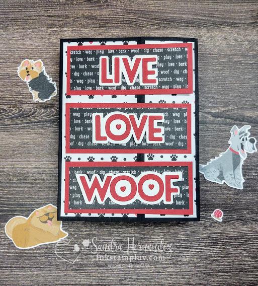 Live Love Woof Dog