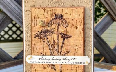 Nature's Harvest meets Cork Paper