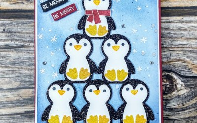 Penguin Pyramid – Luv 2 Stamp Blog Hop