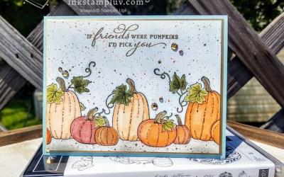 Masking and Pretty Pumpkins Stamp Set