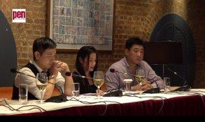 HK activists against censorship