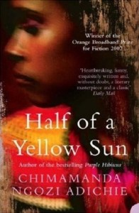 Book cover Half of a Yellow Sun