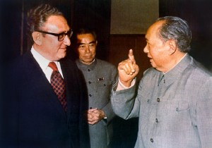 Kissinger, Zhou, Mao