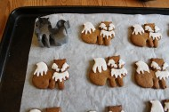 Fox gingerbread biscuits and how to make your own cutter