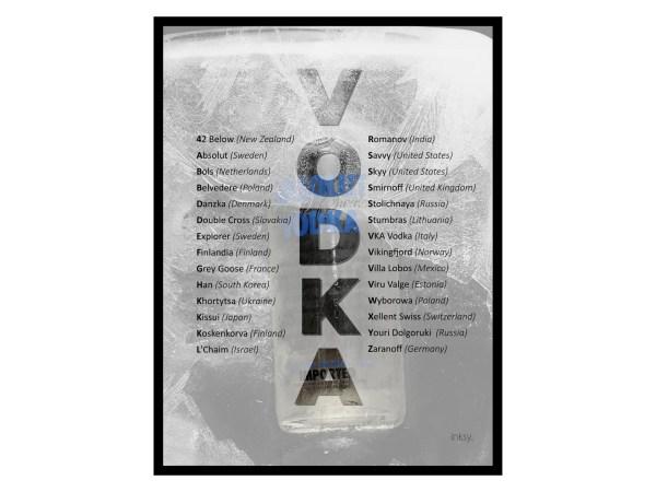 Vodka tavla poster