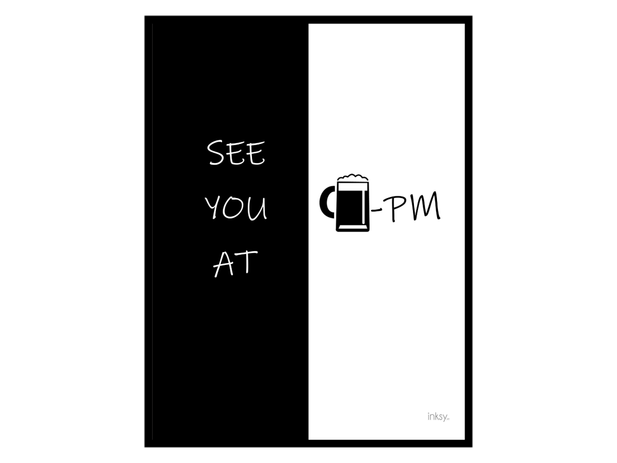 See you at beer PM