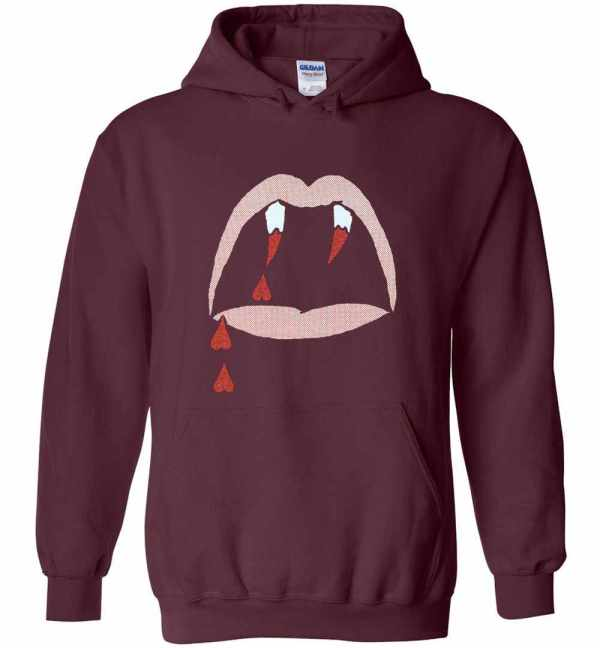 Saint Laurent Black Blood Luster Hoodies Amazon Best Seller