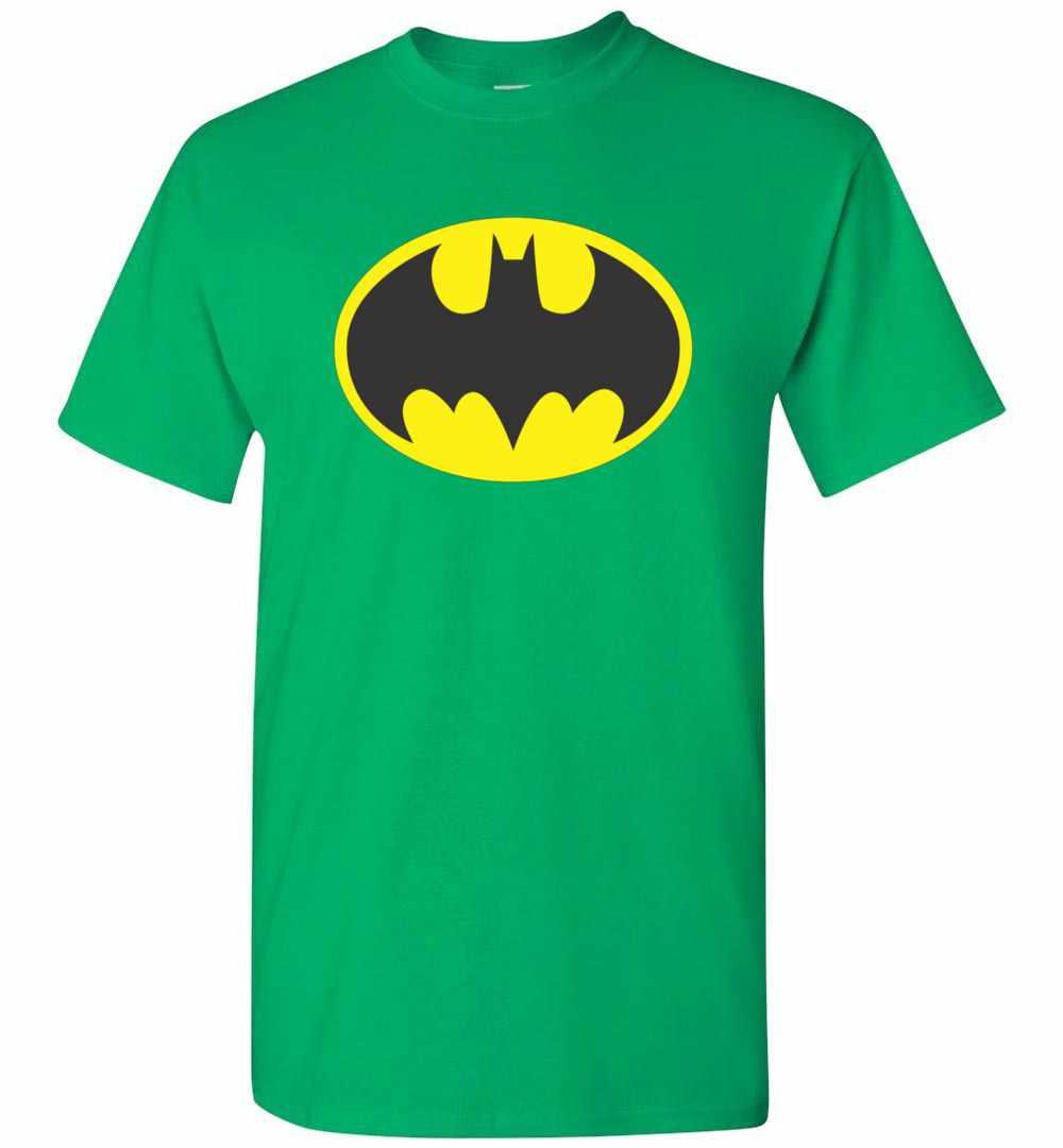 Batman Symbol Bat Oval Logo Mens T Shirt