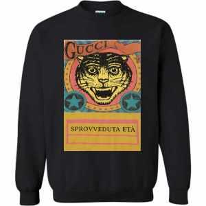 Gucci Tiger  Sprovveduta Età De Rerum Natura Sweatshirt