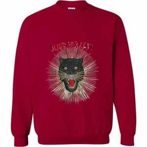 Gucci Panther With Rays Sweatshirt
