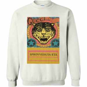 Gucci Tiger Sprovveduta Età De Rerum Natura Sweatshirt Amazon Best Seller