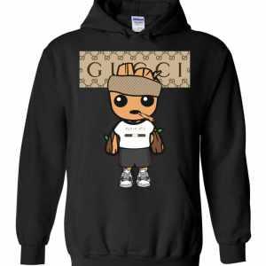Marvel Groot Gucci Hoodies