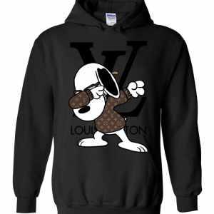 Snoopy Louis Vuitton Dabbing Hoodies