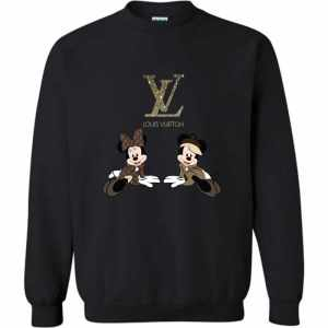 Mickey Louis Vuitton Minnie Sweatshirt