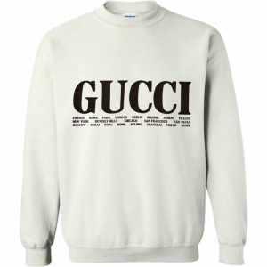 Gucci Cities print Sweatshirt