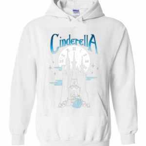 Disney Cinderella Stroke Of Midnight Castle Graphic Hoodies