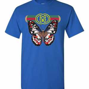 Gucci Butterfly Men's T Shirt Amazon Best Seller
