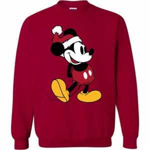 disney classic mickey mouse christmas sweatshirt amazon best seller