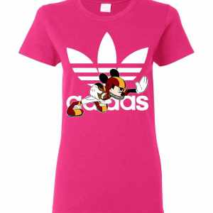 Mickey Mouse Adidas American Football Women s T Shirt Amazon Best Seller 671ab088f