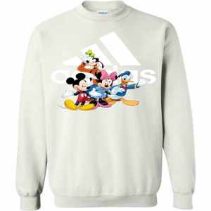Funny Mickey And Friends Sweatshirt