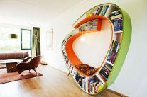 Wormbook bookcase
