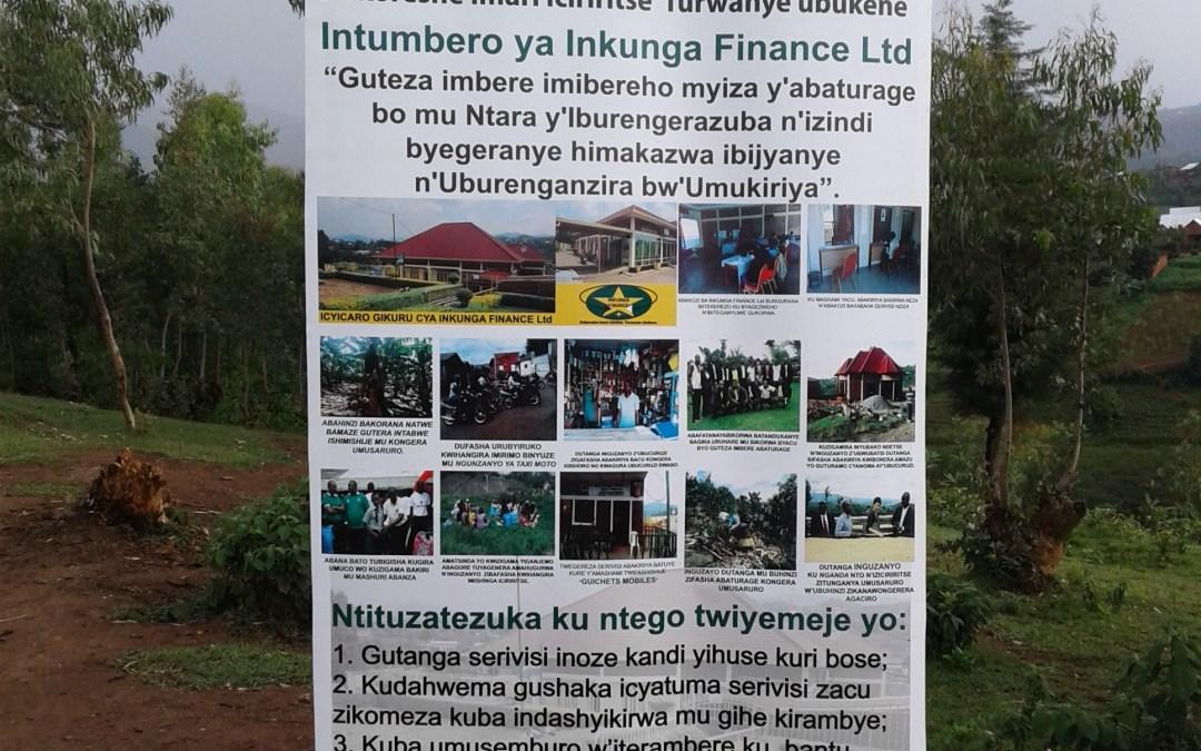 Amoko y'Inguzanyo muri Inkunga Finance Plc