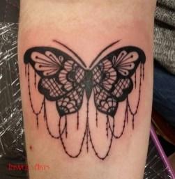 vicki lace butterfly
