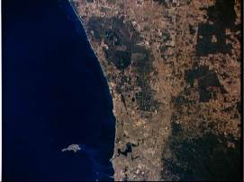 Earth observation of Perth