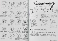 Journal Pages - Tasseomancy