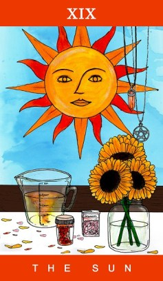 19 - The Sun - Full Colour